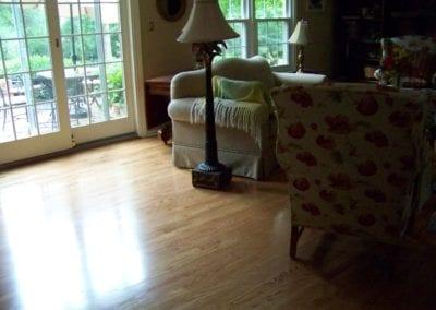 Scarborough Hardwood floor care